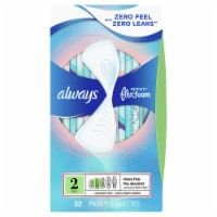 Always Infinity Flex Foam Size 2 Super Pads
