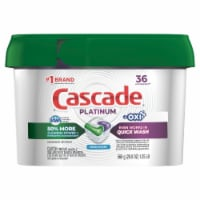 Cascade Platinum Fresh Scent Dishwasher Detergent ActionPacs