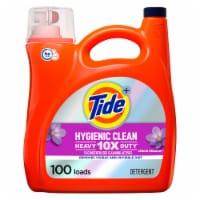 Tide Hygienic Clean Spring Meadow Heavy Duty Liquid Laundry Detergent