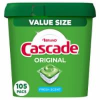 Cascade® Original Fresh Scent Dishwasher Detergent Actionpacs