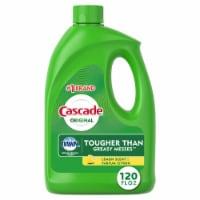 Cascade Lemon Scent Gel Diswasher Detergent