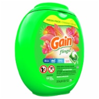 Gain Flings! +AromaBoost Tropical Sunrise 3-in-1 Laundry Detergent Pacs