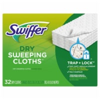 Swiffer Unscented Dry Sweeping Cloths Refills - 32 ct
