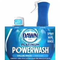 Dawn Platinum Powerwash Fresh Scent Dish Spray Starter Kit & Refill