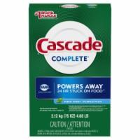 Cascade Complete Dawn Fresh Scent Dishwasher Detergent