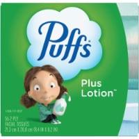 Puffs Plus Lotion Facial Tissue Cube