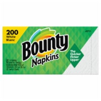 Bounty 1-Ply Paper Napkins