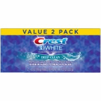 Crest 3D White Deep Clean Anticavity Toothpaste