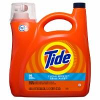 Tide  Clean Breeze Scent Laundry Detergent  Liquid  138 oz. - Case Of: 4; - Case of: 4