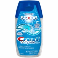 Crest Complete Whitening + Scope Cool Peppermint Liquid Gel Toothpaste