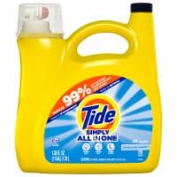 Tide Simply Clean & Fresh Refreshing Breeze Liquid Laundry Detergent - 128 fl oz