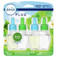 Febreze Plug Morning & Dew Air Freshener Scented Oil Refill