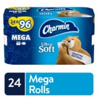 Charmin Ultra Soft 2-Ply Mega Bathroom Tissue