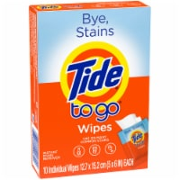 Tide To Go Instant Stain Remover Wipes