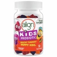 Align Kids Mixed Fruit Probiotic Gummies 50 Count