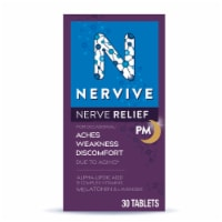 Nervive Nerve Relief PM Dietary Supplement Tablets