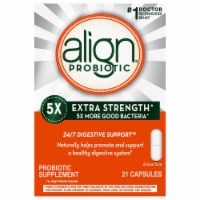 Align 5X Extra Strength Digestive Health Probiotic Supplement Capsules
