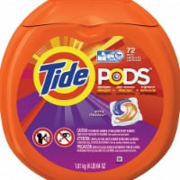 Tide  Spring Meadow Scent Laundry Detergent  Pod  64 oz.