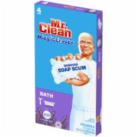 Mr. Clean Lavender Scent Magic Eraser Bath with Febreze Cleaning Pads