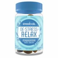 Stressballs De-Stress + Relax Lemon Balm Ginseng Gummies