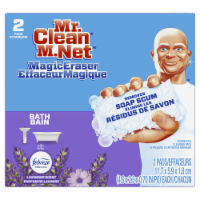 Mr. Clean Magic Eraser with Febreze Lavender Scent Cleaning Pads