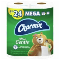Charmin Ultra Gentle Lotion Bathroom Tissue 6 Count