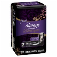 Always Discreet Boutique Very Light Long Incontinence Liners 32 Count