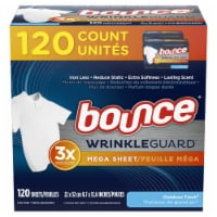 Bounce® Wrinkle Guard Outdoor Fresh Mega Dryer Sheets - 120 ct