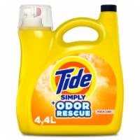 Tide Simply Odor Rescue Fresh Linen Liquid Laundry Detergent - 150 fl oz
