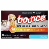 Bounce Pet Hair & Lint Guard Fresh Scent Dryer Sheets