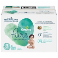 Pampers Pure Protection Size 3 Baby Diapers - 66 ct