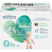 Pampers Pure Protection Size 4 Baby Diapers