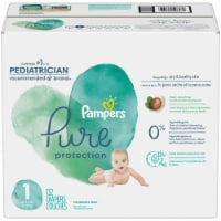 Pampers Pure Protection Size 1 Baby Diapers - 132 ct