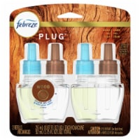 Febreze Plug Wood Air Freshener Scented Oil Refill