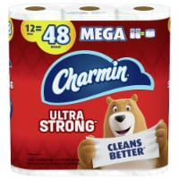 Charmin ULTRA STRONG Toilet Tissue 12 Rolls