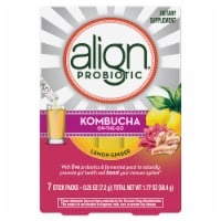 Align Kombucha On-the-Go Lemon Ginger Probiotic Drink Mix