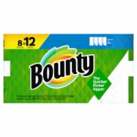 Bounty Select-a-Size White Single Plus Paper Towels - 8 rolls