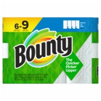Bounty Select-a-Size White Single Plus Paper Towels - 6 rolls