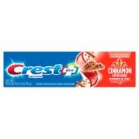 Crest Plus Complete + Whitening Cinnamon Rush Anticavity Fluoride Toothpaste