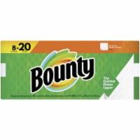 Bounty Full Sheet Paper Towel (8 Double Plus Rolls) 3700067090 - Full Sheet