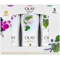 Olay Fresh Outlast Body Wash, 23.6 Fluid Ounce (3 Pack) - 1 unit