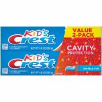Crest Kid's Sparkle Fun Fluoride Anticavity Toothpaste Value Pack