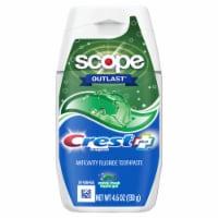 Crest® Plus™ Scope® Outlast Minty Fresh Liquid Gel Toothpaste - 4.6 oz
