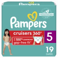 Pampers Cruisers 360 Fit Size 5 Baby Diapers - 19 ct