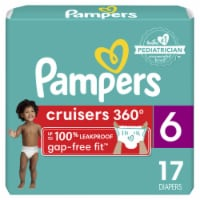 Pampers Cruisers 360 Fit Size 6 Diapers - 17 ct