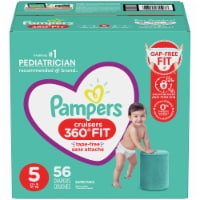 Pampers Cruisers 360 Fit Size 5 Baby Diapers - 56 ct