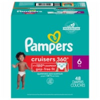 Pampers Cruisers 360 Fit Size 6 Baby Diapers Super Pack - 48 ct