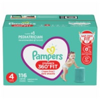 Pampers Cruisers 360 Fit Size 4 Baby Diapers - 116 ct
