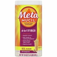 Metamucil 4-in-1 Unflavored Fiber Supplement Powder