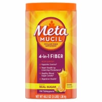 Metamucil Orange Smooth Fiber Supplement Powder